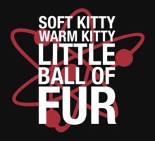 soft kitty the big bang theory clear by punkypeggy