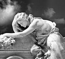 The Mourner by olga zamora