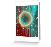 Orbital Planning Greeting Card