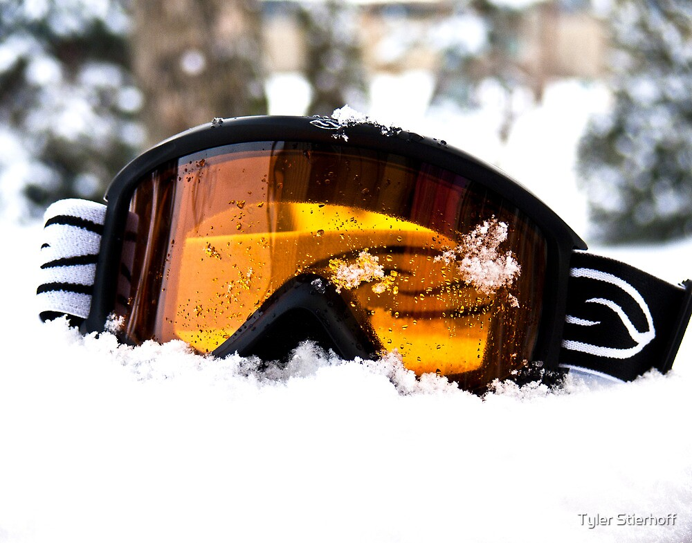 Goggles in the Snow by Tyler Stierhoff