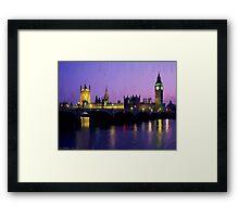LONDON_View 113-4 Framed Print