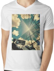 He wanted a corner office Mens V-Neck T-Shirt