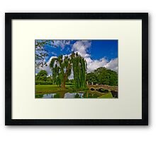 Guardian Willow Framed Print