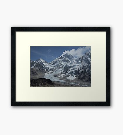 Mount Everest from Kala Patar Framed Print