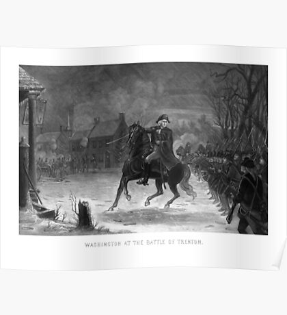 George Washington At The Battle Of Trenton Poster