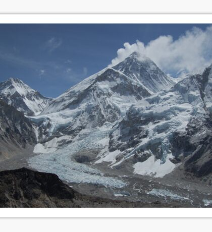 Mount Everest from Kala Patar Sticker