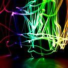Rainbow Scribble #2 by Reza G Hassani