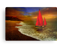 Seaton Sail Metal Print