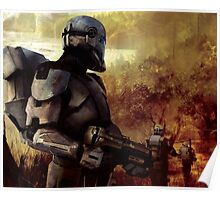 Clone Commando Patrol   Poster