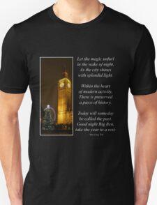 Big Ben ticks Goodnight T-Shirt