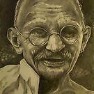 Gandhi by Andrea Félix