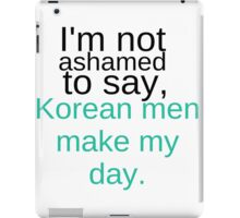 Korean Men iPad Case/Skin