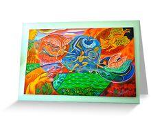 Transmutation Greeting Card