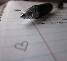 Writing Love by KatieRena