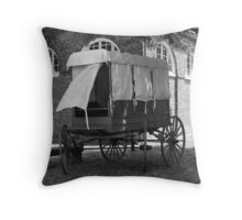 Vintage Mail Carrier Throw Pillow