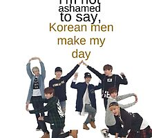 Korean Men - BTS by morganm3rry