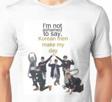 Korean Men - BTS Unisex T-Shirt