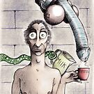 A Nice Hot Cuppa (colour) by Paul  Carlyle