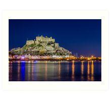 Jersey - Mont Orgueil castle Art Print