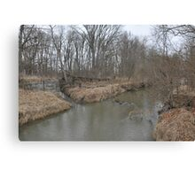 Another Parker City Stream  Canvas Print