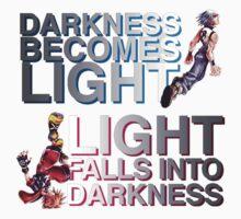Kingdom Hearts: Dream Drop Distance - Sora and Riku One Piece - Short Sleeve