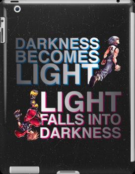Kingdom Hearts: Dream Drop Distance - Sora and Riku by Daniela Walker Reed