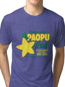 Paopu Fruit - Kingdom Hearts Tri-blend T-Shirt