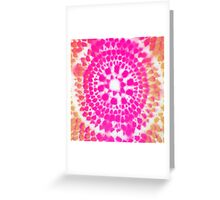 Scale Mandala 4 Greeting Card