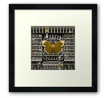 The Butterfly Machine Framed Print