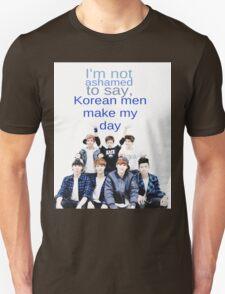 Korean men - BTS Unisex T-Shirt