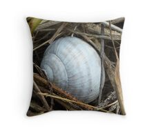 Snail shell Throw Pillow
