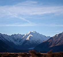 Aoraki - Mt Cook & Tasman Glacier by Odille Esmonde-Morgan