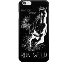 Run Wild iPhone Case/Skin