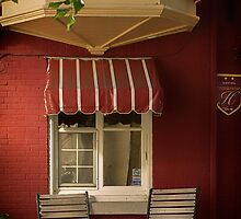 Under The Bow Window - Le Petit Hôtel, Quebec City by Yannik Hay