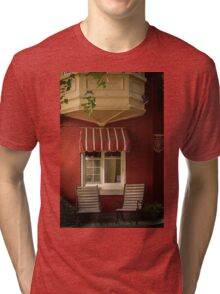 Under The Bow Window - Le Petit Hôtel, Quebec City Tri-blend T-Shirt