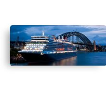 Queen Elizabeth in Sydney Canvas Print