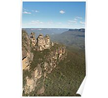 Blue Mountains with Three Sisters Poster