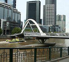 Pedestrian bridge by Maggie Hegarty