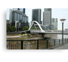 Pedestrian bridge Metal Print