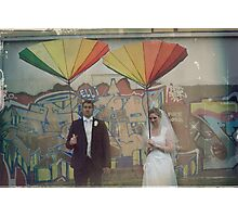Groom & grunge Photographic Print