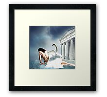 The Conception of Helen Framed Print