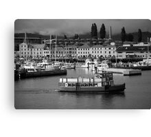 cityscapes #184, ferry Canvas Print