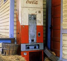 Old Coke machine by Rodney Williams