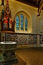 Christchurch - Baptismal Font by Werner Padarin
