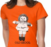 Old Skool Ann Doll Womens Fitted T-Shirt