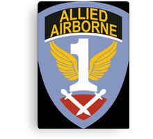 First Allied Airborne Army (Historical) Canvas Print