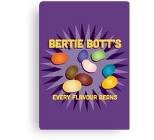 Bertie Bott's Every Flavour Beans - Harry Potter Canvas Print
