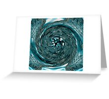 Black & Blue #5 Greeting Card