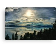 Tahoe Blues Canvas Print