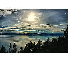 Tahoe Blues Photographic Print